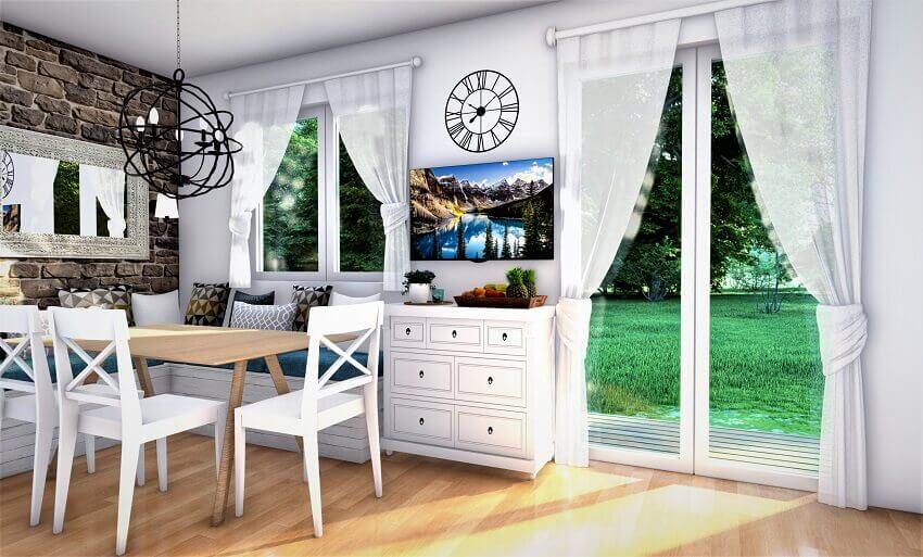 Дизайн дачного дома