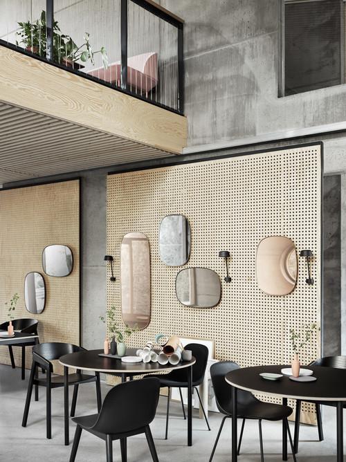 Венская соломка в отделке стен