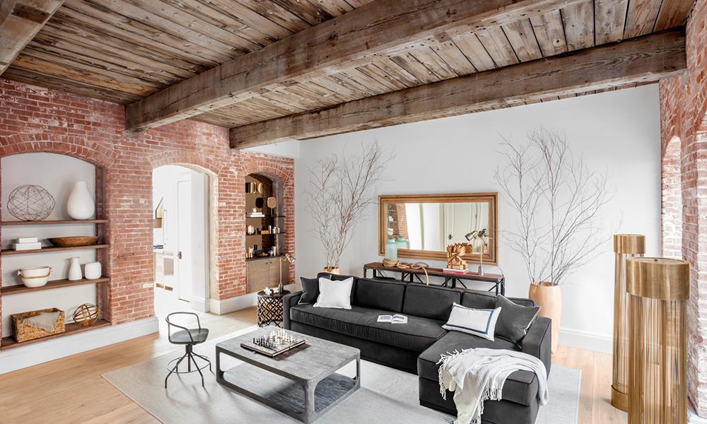 Дизайн квартир — лофт