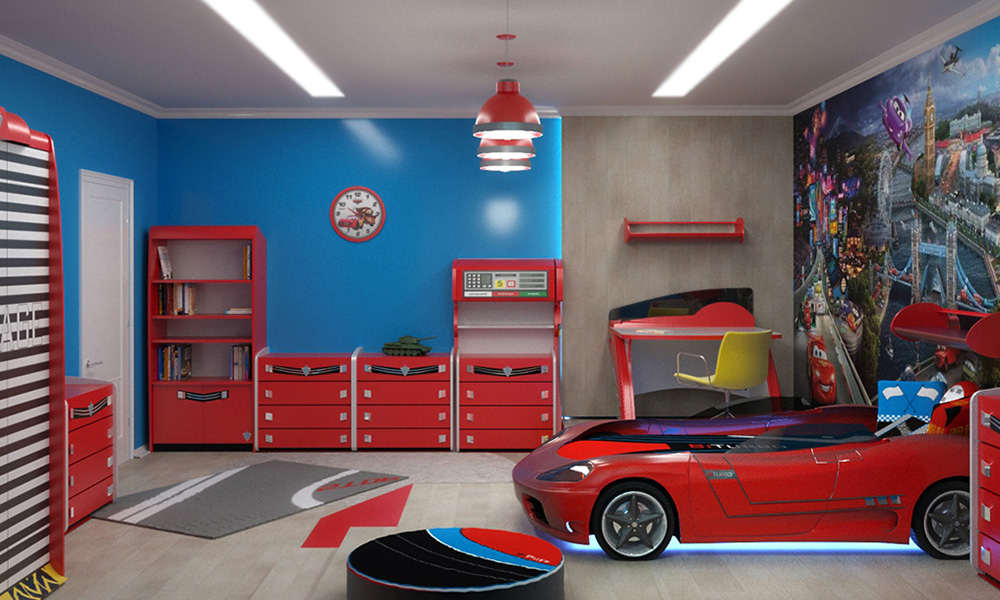 Как создать дизайн детской комнаты?