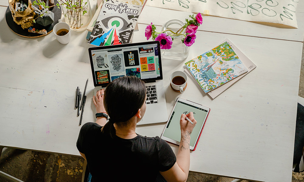Обустройство места для творчества в доме