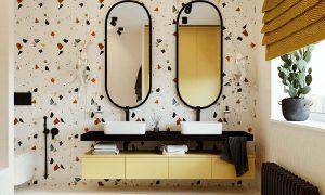 Трендовые дизайнерские идеи для ванной комнаты