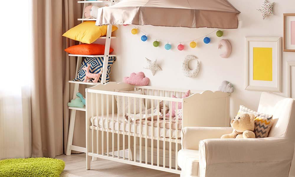 Как сделать универсальную детскую комнату